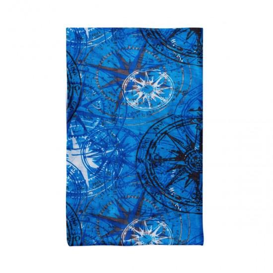 Многофункционална кърпа за лице сини звезди