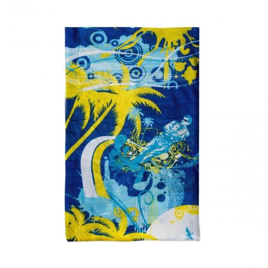 Многофункционална кърпа за лице жълти палми