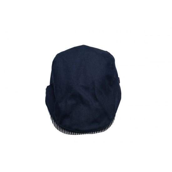 Мъжки тъмно син каскет