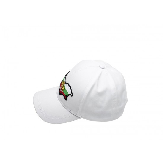 Детска шапка с козирка в бяло България