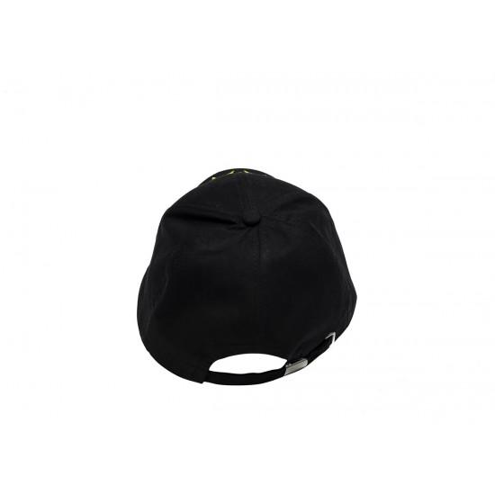 Черна шапка с козирка с Герб България