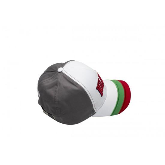 Детска шапка с козирка България сива