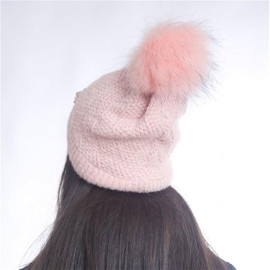 Дамски зимен светло розов комплект