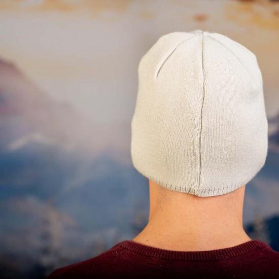 Мъжка шапка в екрю