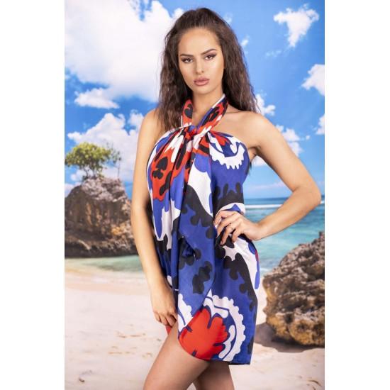 Плажен шал в красиви цветове