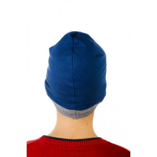 Зимна трикотажна шапка с миньони