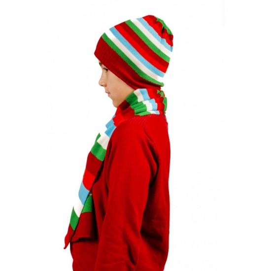 Детски комплект шапка и шал