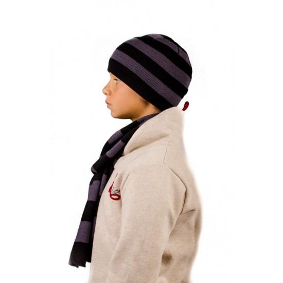 Детски комплект шапка и шал Бен 10