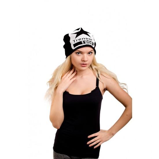Скейтърска шапка виснала черна звезда